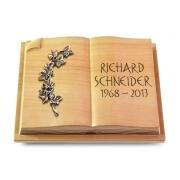 Grabbuch Livre Auris / Woodland mit Bronze-Ornament