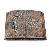 Grabbuch Livre Pagina / Himalaya mit Aluminium-Ornament
