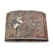 Grabbuch Livre Pagina / Himalaya mit Color-Bronze-Ornament
