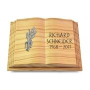 Grabbuch Livre Pagina / Woodland mit Aluminium-Ornament