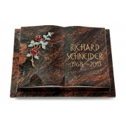 Grabbuch Livre Podest / Aruba mit Color-Bronze-Ornament
