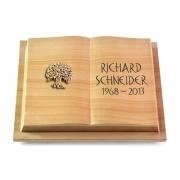 Grabbuch Livre Podest / Woodland mit Bronze-Ornament