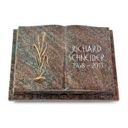 Grabbuch Livre Podest Folia / Paradiso mit Bronze-Ornament