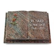 Grabbuch Livre Podest Folia / Paradiso mit Color-Bronze-Ornament