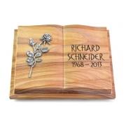 Grabbuch Livre Podest Folia / Rainbow mit Aluminium-Ornament