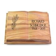 Grabbuch Livre Podest Folia / Rainbow mit Bronze-Ornament