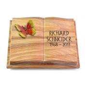Grabbuch Livre Podest Folia / Rainbow mit Color-Bronze-Ornament
